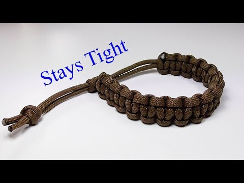 """Finally A """"Mad Max Style"""" Paracord Bracelet That Stays Tight"""