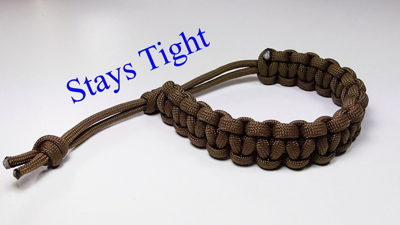 Paracord Bracelet That Stays
