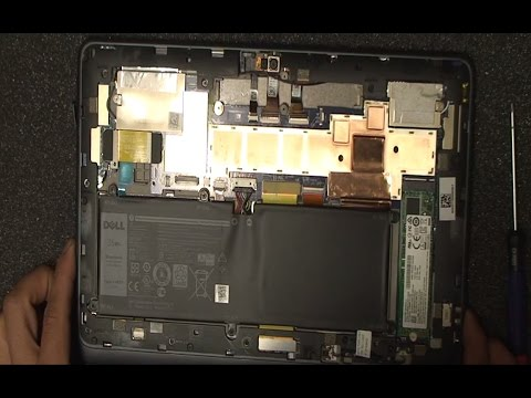 Teardown Dell Latitude 11 5175 5179 Two In One Laptop