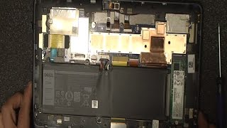 teardown: Dell Latitude 11-5175 5179 Two in One laptop/tablet combo. Memory & SSD drive upgrade?
