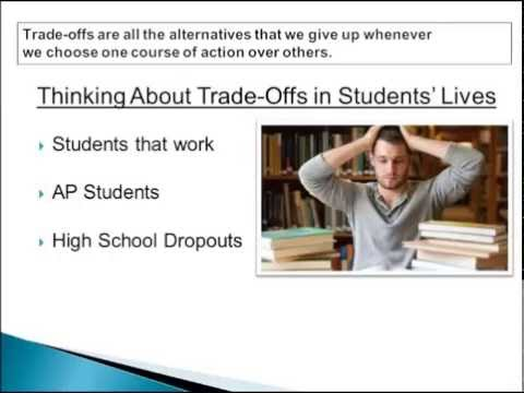 Economics Lesson 1-2 (Revised) Opportunity Cost