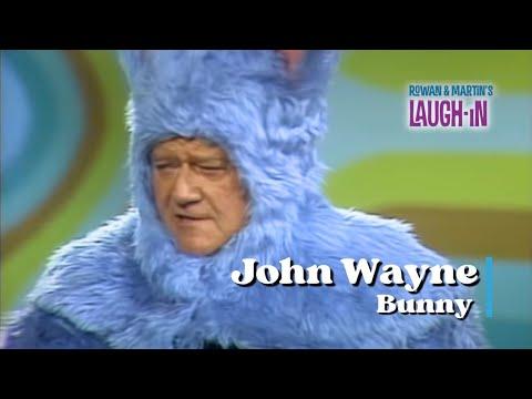 Download John Wayne Dressed As A Bunny | Rowan & Martin's Laugh-In | George Schlatter
