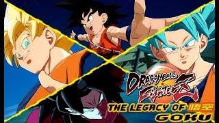 Happy Goku Day! The Legacy Of Goku Team! More Kid Goku GT Gameplay! Dragon Ball FighterZ Online