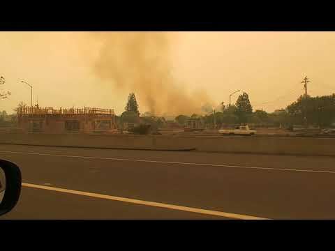 CALIFORNIA is on fire!! (sonoma county destruction) send help!