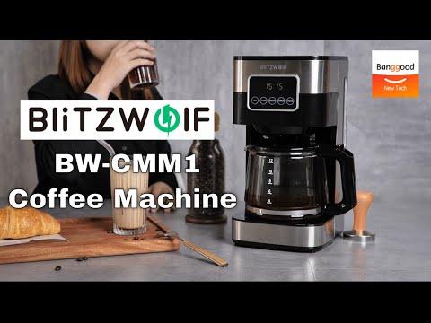 BlitzWolf BW-CMM1 Drip Coffee Machine - Banggood New Tech