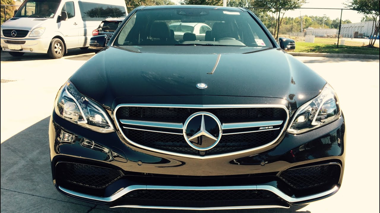 Luxury 2016 Mercedes E63 Amg S