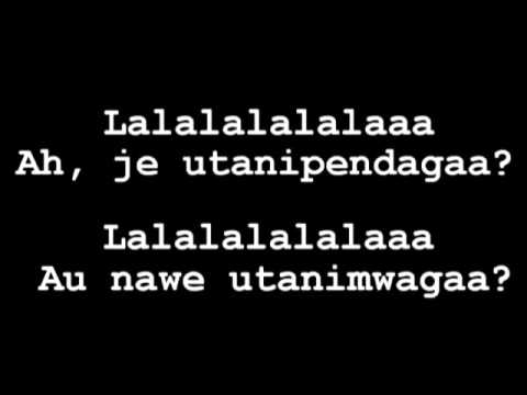 utanipenda lyrics Diamond