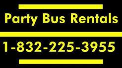 Best Party Bus Pasadena Tx | 1-832-225-3955