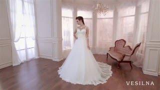 Свадебное платье 2016 года от VESILNA™ модель 3089