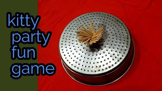 One minute fun game//ladies #kittyparty game with luck.