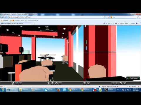 Xây dựng mô hình quán KFC sử dụng VRML