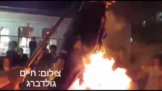شاهد.. نتنياهو يهاجم حرق حاخامات يهود دمية جندي إسرائيلي