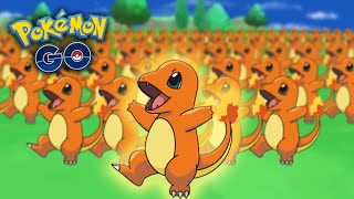 POKÉMON GO GAMEPLAY - EASY CHARMANDERS & CHARIZARD FARM! Fast Leveling & Easy EXP in Pokemon Go!