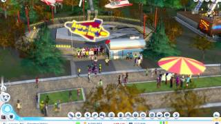 SimCity Amusement Park Overview