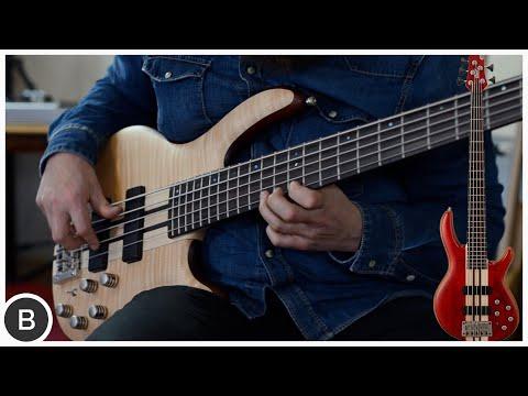 CORT ARTISAN A5 PLUS // Neck-Thru Bass // BassTheWorld.com