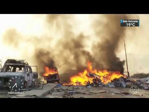 Número de mortos em atentado na Somália já passa de 300 | SBT Notícias (18/10/17)