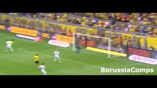 Borussia Dortmund Teamwork vs Borussia M'Gladbach | HD 720p