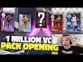 MASSIVE 1 MILLION VC PACK OPENING LIVE NBA 2K18!!