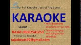 Rote Hue Aate Hain Sab Kishore Kumar Karaoke Track