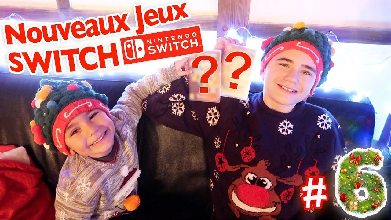 Calendrier Switch.Nouveaux Jeux Switch Calendrier De L Avent Surprise 2017