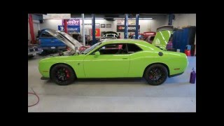 Borelli Motor Sports: 1000hp Challenger Hellcat w/bolt-ons & Nitrous(1005rwhp)