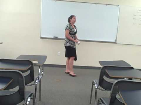 Jackie Sullivan's Informative Speech