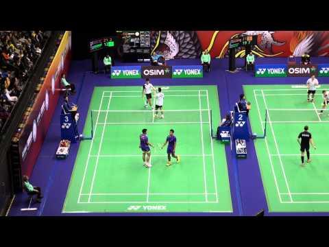 HK Open SS 2013 MD QR - Fernando/YEUNG Shing Choi HKG, Danny Bawa CHRISNANTA/Chayut TRIYACHART SIN