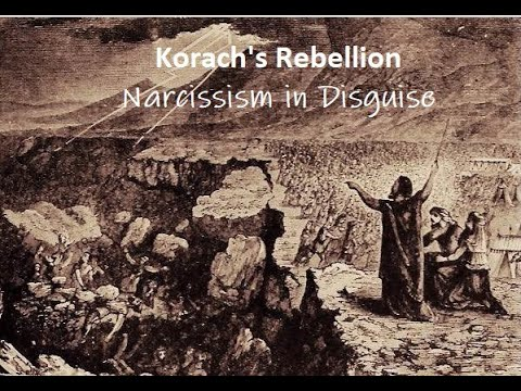 Korach's Rebellion and the Arrogance of Personal Agenda