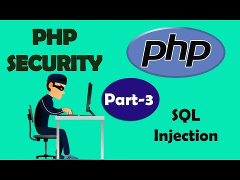PHP Security | Sql Injection 2 | Part - 3