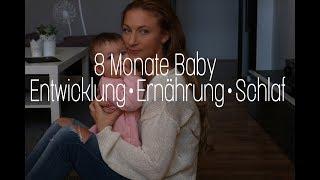 8 MONATE BABY l Trick für besseren Schlaf l Zuerst die Eckzähne???