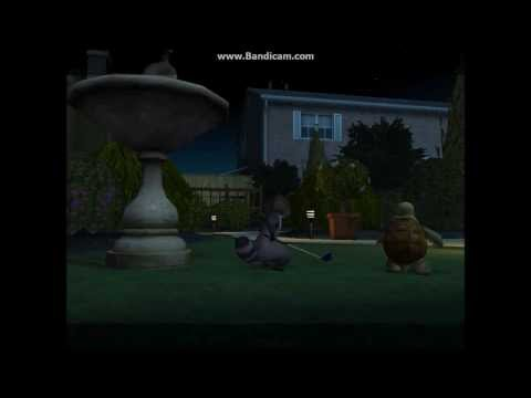 Over The Hedge Video Game: Walkthrough Part 1 - Gladys' Back Yard - Mission 1