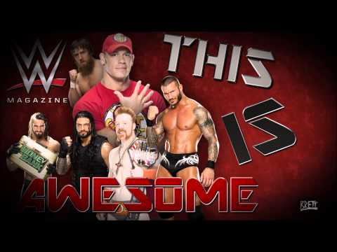 WWE: 1000 Awesome Magspot  CFO$ ► WWE Magazine Promo Theme Song