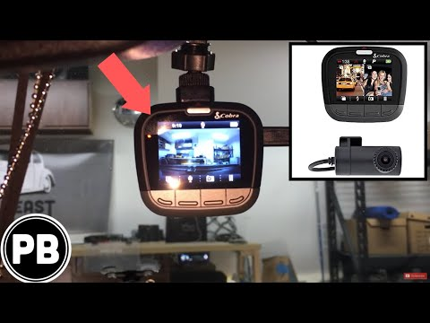 How To Install a Dual Dashboard Camera System Cobra CDR-895D