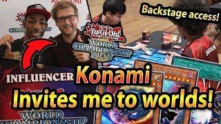 Konami INVITES me to Yu-Gi-Oh! WORLDS!