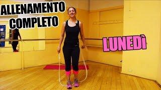 Allenamento Quotidiano per dimagrire velocemente la pancia e le gambe e tonificare - Lunedì