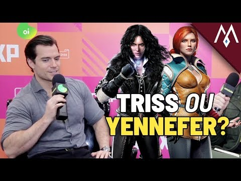 Henry Cavill Tells His Choice In The Witcher 3! [LEGENDADO PT-BR]