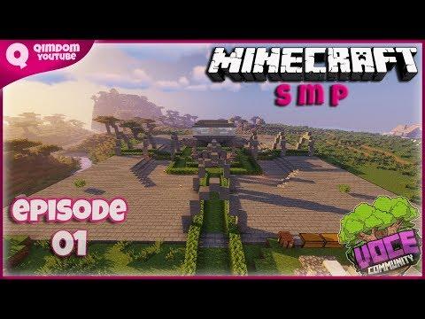 Here We Go Again Petualangan Baru Di Minecraft SMP | Voce Community Indonesia Ep 01 !!!