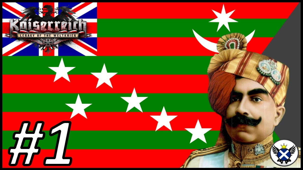 The Fifth Anglo-Afghan War! | HOI4 Kaiserreich Dominion of India #1