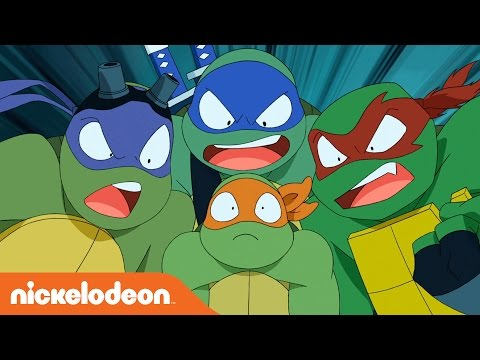 Teenage Mutant Ninja Turtles | 'Turtles Take Time (and Space)' by Brandon Auman from SDCC | Nick