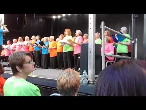 Sing! Littleborough at Manchester Together - With One Voice