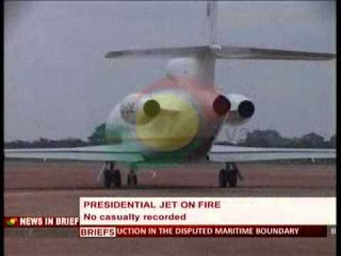 News360 - Presidential Jet on Fire -3/3/2015