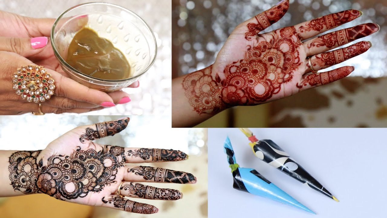 Mehndi Henna Buy : How to make henna paste for dark red stain youtube