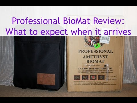 BioMat 7000 mx Professional Review: What does the Bio Mat Professional look like when it arrives