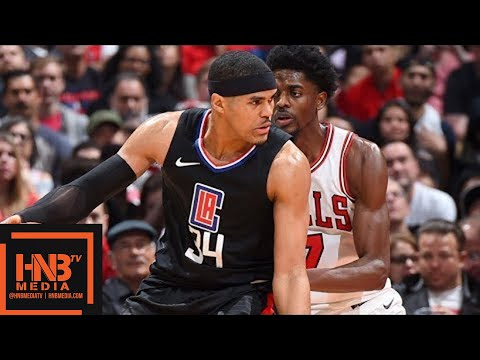 LA Clippers vs Chicago Bulls Full Game Highlights / Feb 3 / 2017-18 NBA Season