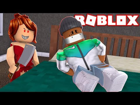THE RED DRESS GIRL - A Roblox Horror Story