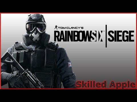 Ranked Rainbow Six Siege Road To Diamond | Red Crow Echo Hibana Skilled Apple