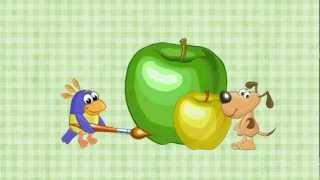 Фрукты и ягоды. Развивающий мультик для детей