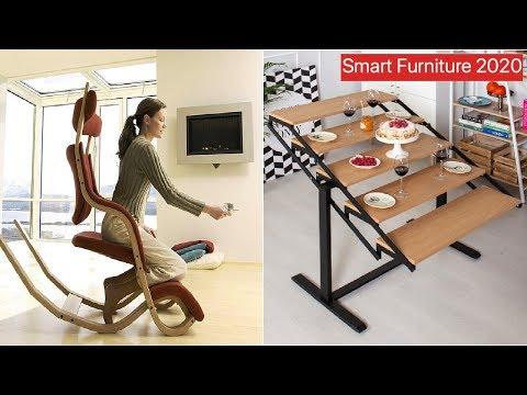 Great Space Saving Ideas - Smart Furniture 2020 #1