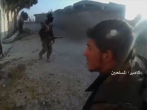 Raw: Militants Fight Each Other in Syria
