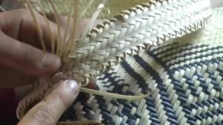 Penan Ba Bare Basket Weaving - Muli Kelek
